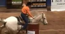 Dixie National Barrel Racing 211x110